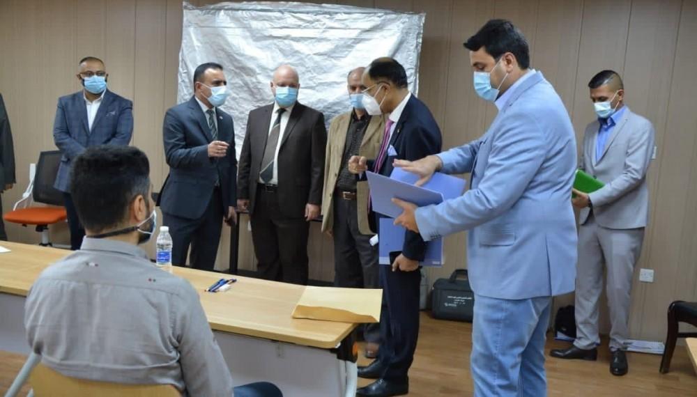 استقبال معالي وزير الصحة من قبل السيد رئيس المجلس العراقي