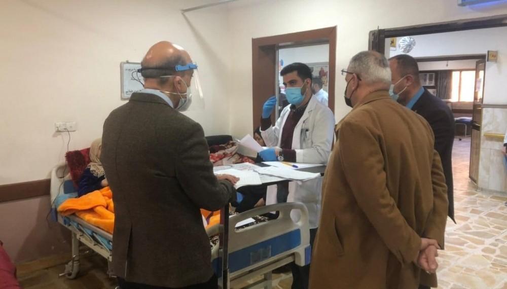 المجلس العلمي العراقي لجراحة الجمله العصبية يجري الامتحان الوسطي العملي