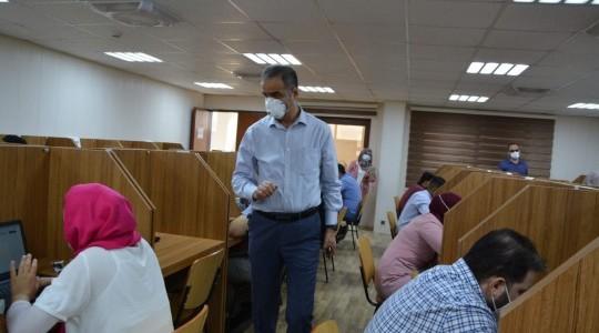 بدء الامتحانات الكتابية لطلبة المجلس العراقي للاختصاصات الطبية