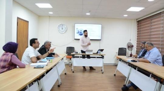 المجلس العراقي للاختصاصات الطبيه يستضيف اجتماع اللجنة الفنية للجراحة العصبيه في وزارة الصحة